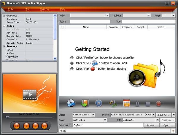 3herosoft DVD Audio Ripper 3.8.2.1128