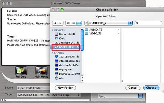 copiare dvd su mac
