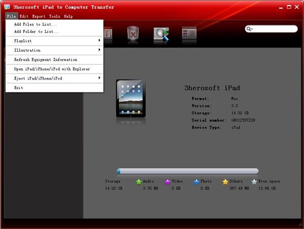 Trasferire files da PC a iPad e da iPad a PC