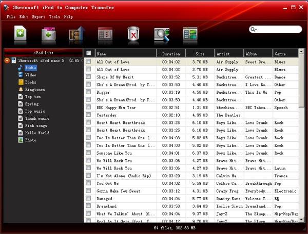 ImTOO iPod Computer Transfer 2.1.43.0604 + Serials-[HB]